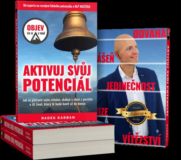 Průlomová kniha Aktivuj svůj potenciál je tu!
